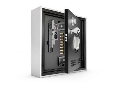 Pištola v sefu