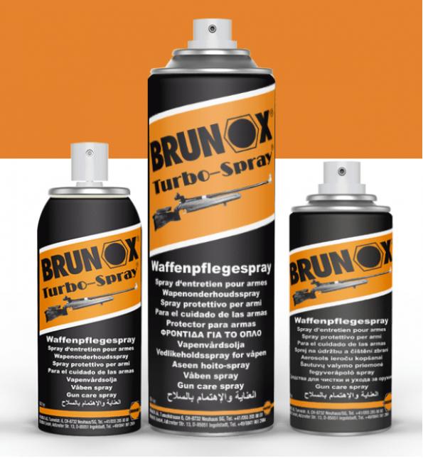 Brunox Turbo Spray za orožje