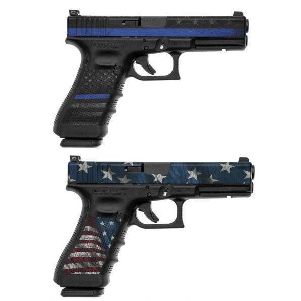 skin za pištolo glock 17_vzorca