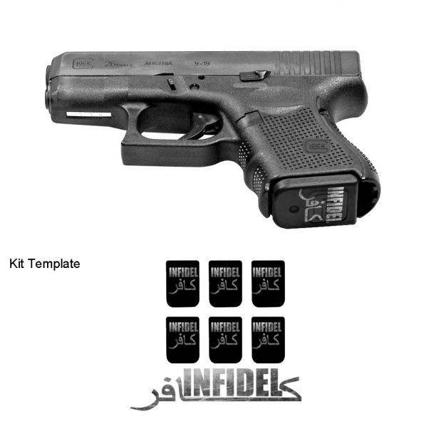 pistol-mag-skin-infidel