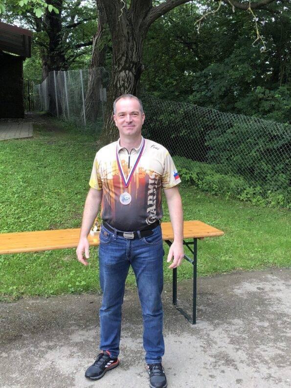 3. mesto revolver posamezno Bojan Fras, SD Proarmis III.
