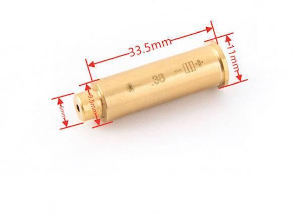 Laser boresight 38. Special dimensions