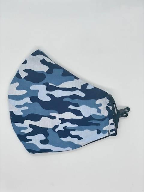 Kamuflažna maska camo blue